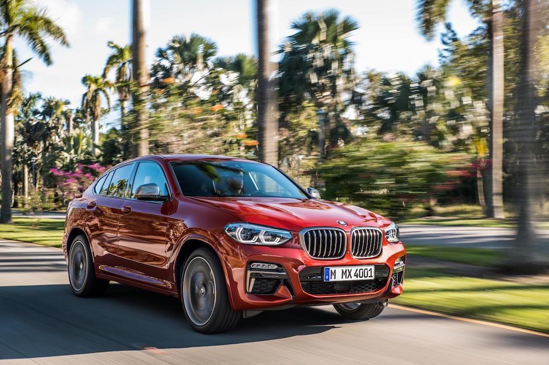 La nueva generación del SUV coupé BMW X4, más grande y tecnológica