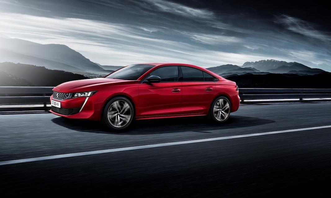 Peugeot convierte en deportiva su berlina tradicional 508
