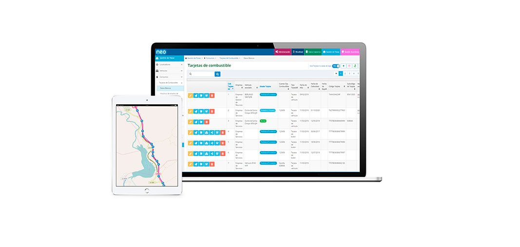 Work&Track fleet GPS une gestión de flotas y servicios técnicos