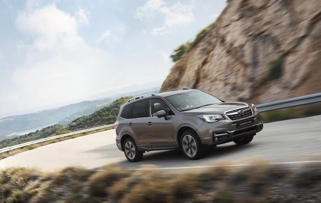 Subaru incorpora el Forester 2018 con mejoras en seguridad y equipamiento desde 29.300 euros