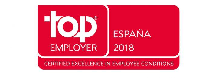 Volkswagen Group España Distribución recibe la certificación Top Employer