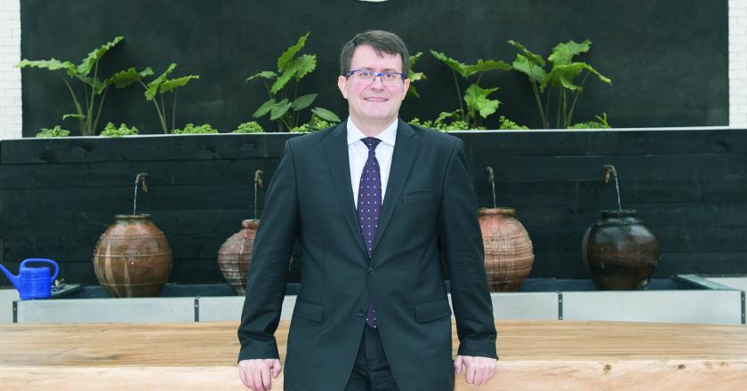 Luc Soriau es consejero delegado de Arval en España. FOTOGRAFÍA: FERNANDO ARÚS @FLEET PEOPLE