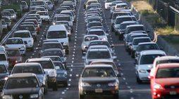 El Estado recaudó más en concepto de impuesto de matriculación. En la imagen, parque de vehículos.