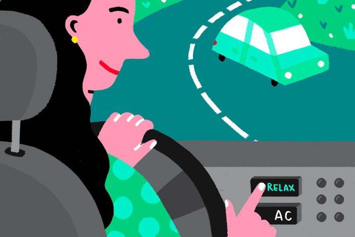Mantener la calma al volante