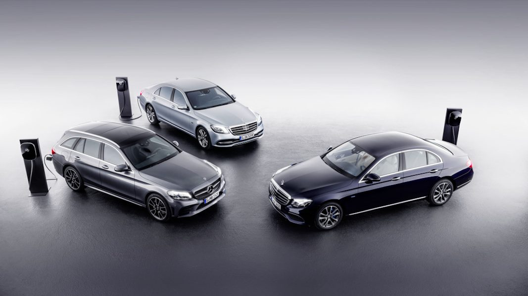 Mercedes-Benz prepara el lanzamiento de sus primeros híbridos enchufables con motor diesel