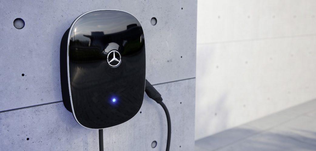 Die neue Mercedes-Benz Wallbox, Laden mit bis zu 22 kW