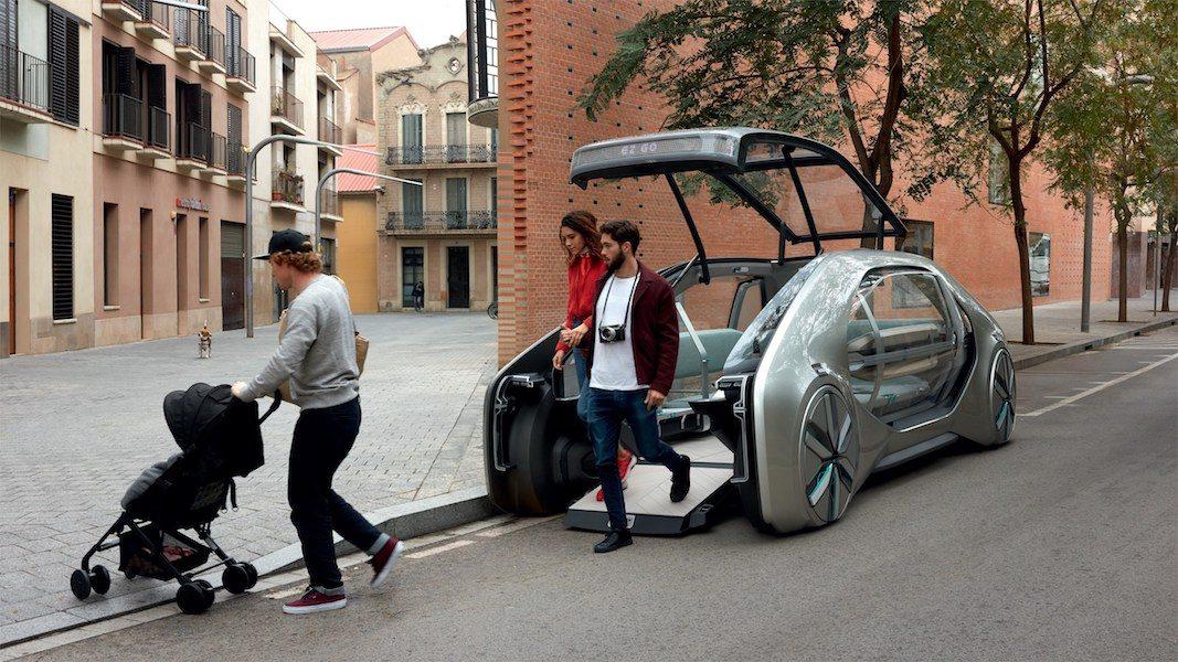 EZ-GO, un vehículo y un servicio que muestra la visión de Renault sobre la nueva movilidad