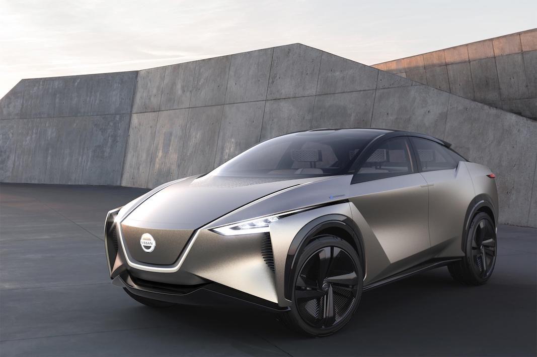 Más de 600 kilómetros de autonomía para el crossover eléctrico Nissan IMx KURO