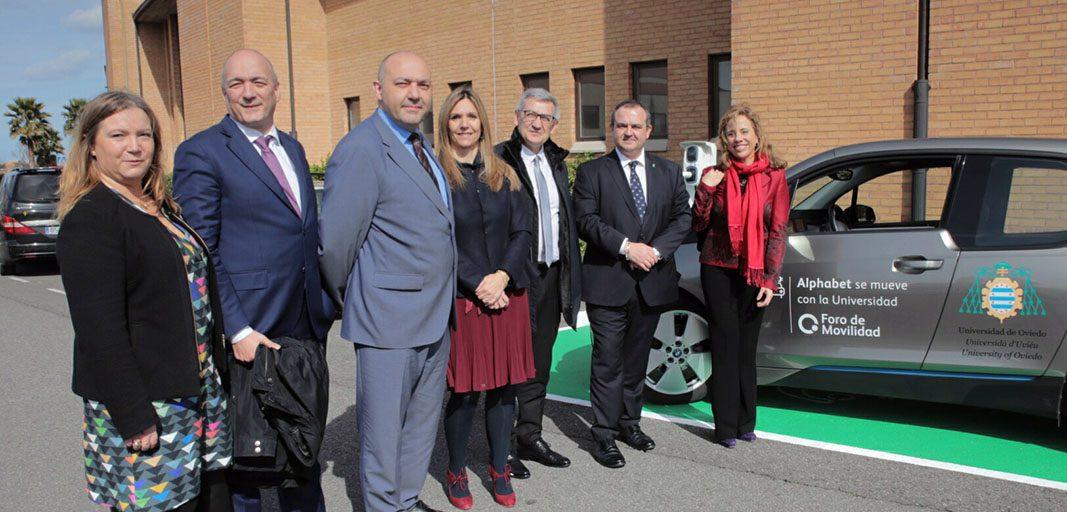 Alphabet y la Universidad de Oviedo colaboran en movilidad eléctrica