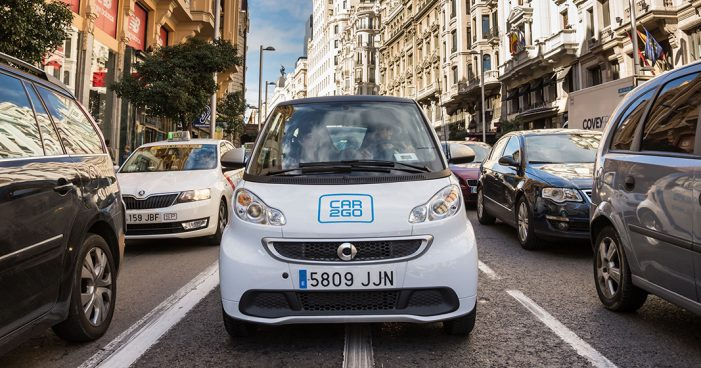 Car2go logra 200.000 usuarios de carsharing en Madrid