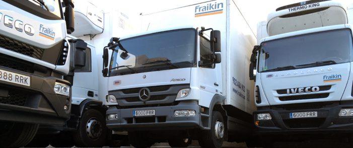 Fraikin España logra una flota activa de 6.000 vehículos