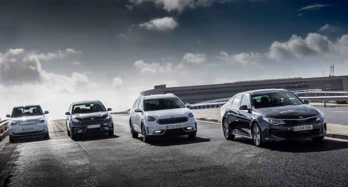 Kia se propone que el 10% de sus ventas sea de híbridos y eléctricos