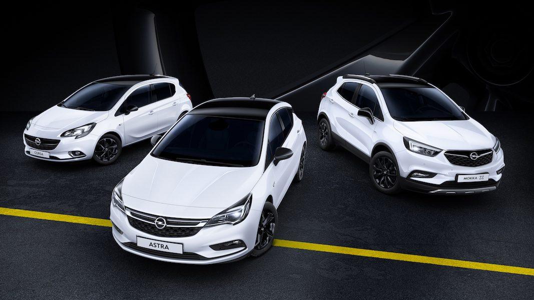 'Black Edition', un apellido para los modelos de Opel con un estilo especial