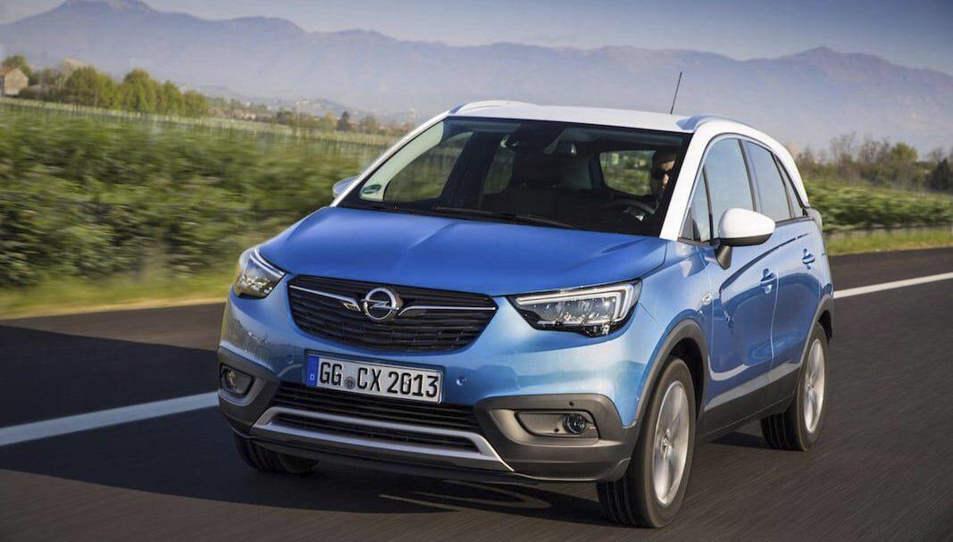 La gama de Autogas de Opel crece con la incorporación del Crossland X