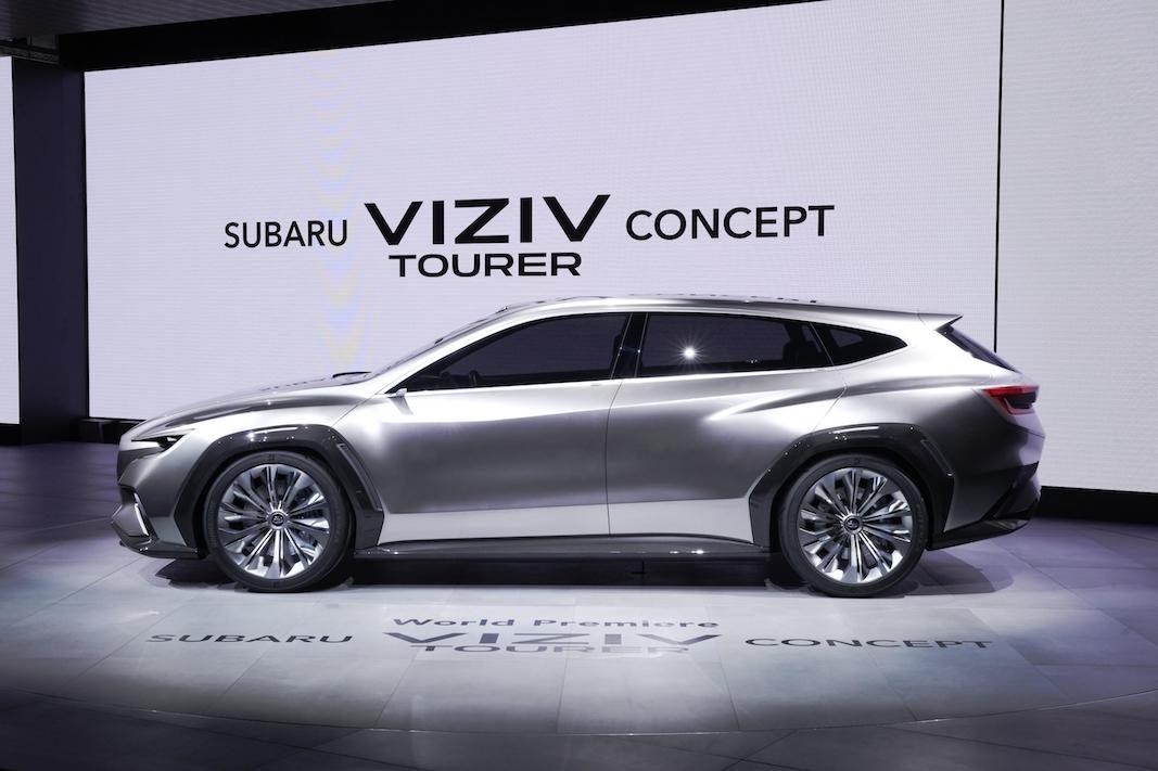 Subaru muestra en Ginebra el VIZIV Tourer, un avance de los familiares deportivos de la marca
