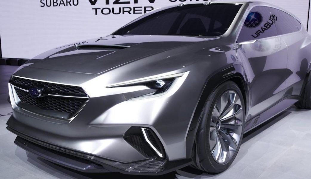 Subaru Viziv Tourer Concept 5