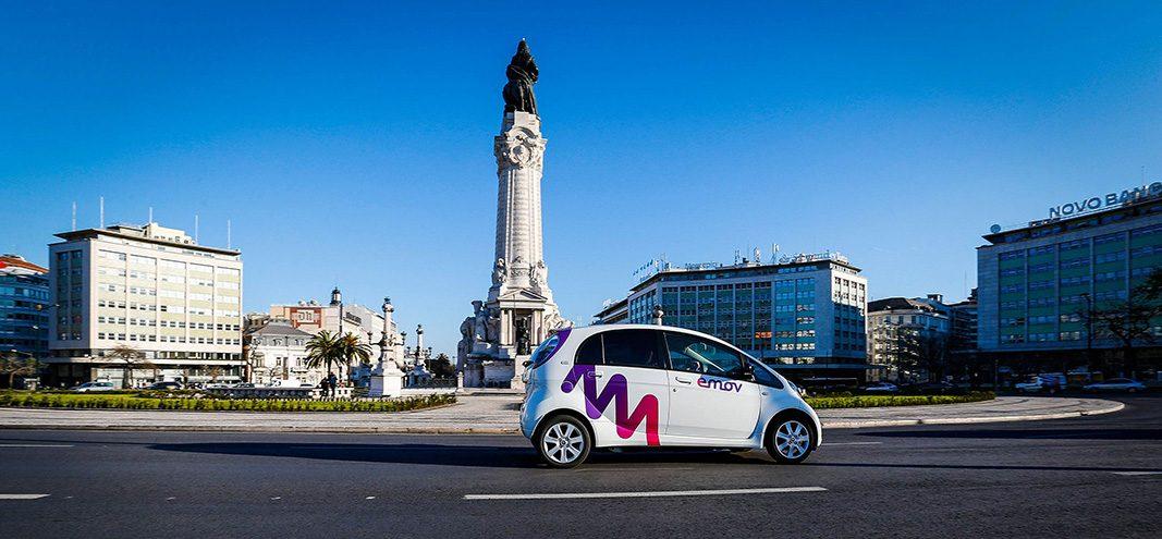 Emov se convierte en el primer servicio de carsharing de Lisboa