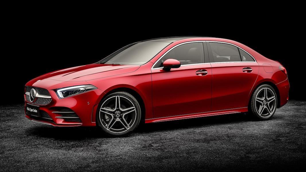 Mercedes-Benz avanza la nueva berlina de la Clase A en Auto China 2018