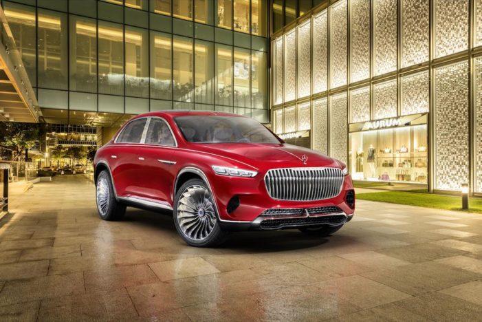 Vision Mercedes-Maybach Ultimate Luxury, un SUV eléctrico visionario de 750 CV y 500 km de autonomía