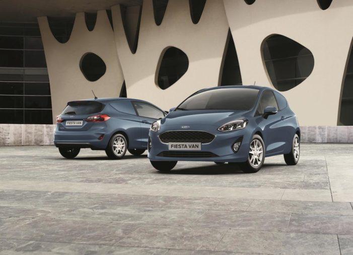 Ford desvela en el Salón de Birmingham el nuevo Fiesta Van y la tecnologías de conectividad avanzadas