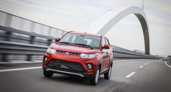 Mahindra se suma a la moda de los SUV urbanos con el modelo KUV100