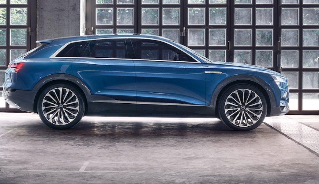 Audi e-tron (silueta derecha)