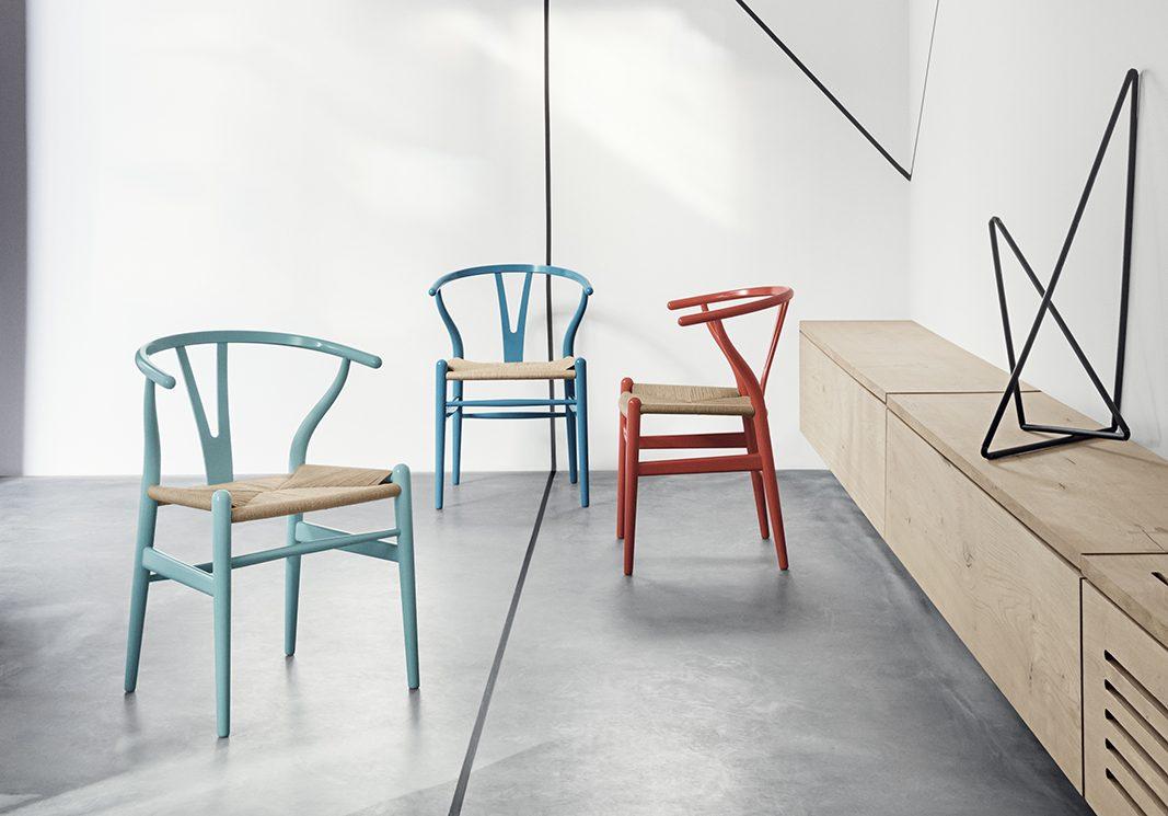 Muebles de colores en línea con las tendencias primaverales