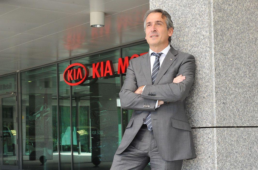 Directo al cielo: Emilio Herrera, nuevo número uno operativo de KIA en Europa
