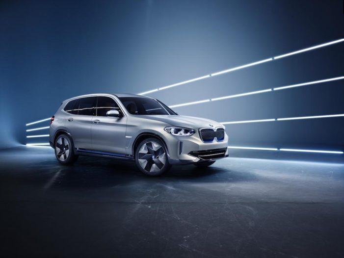 Concept iX3, el SUV eléctrico que BMW estrena en el Salón Auto China 2018