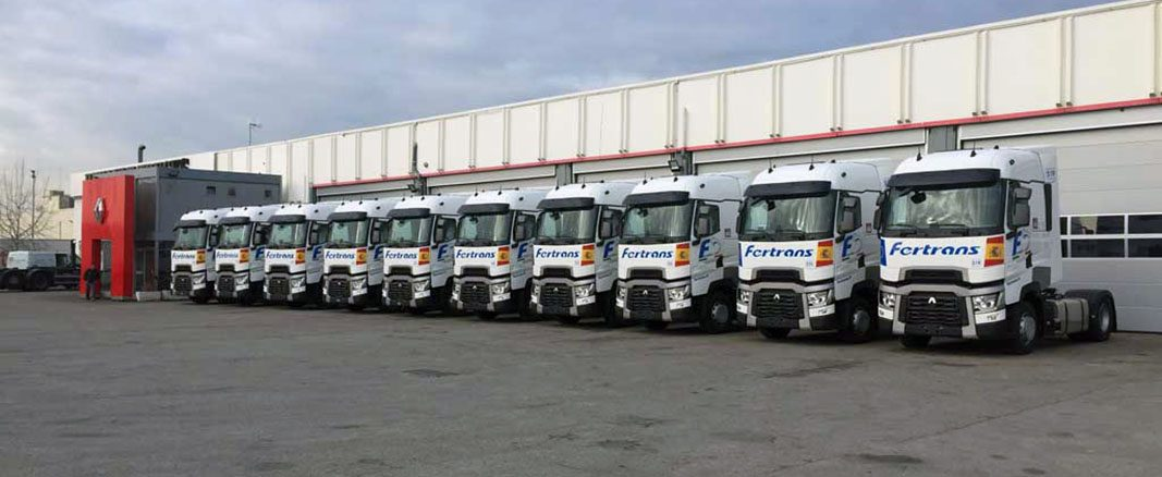 Grupo Fertrans adquiere diez Renault Trucks para su flota en Barcelona