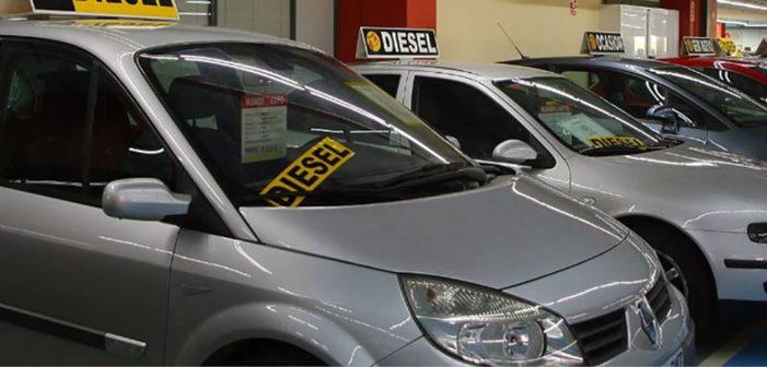 Las transacciones de coches usados aumentan un 2,5% hasta marzo