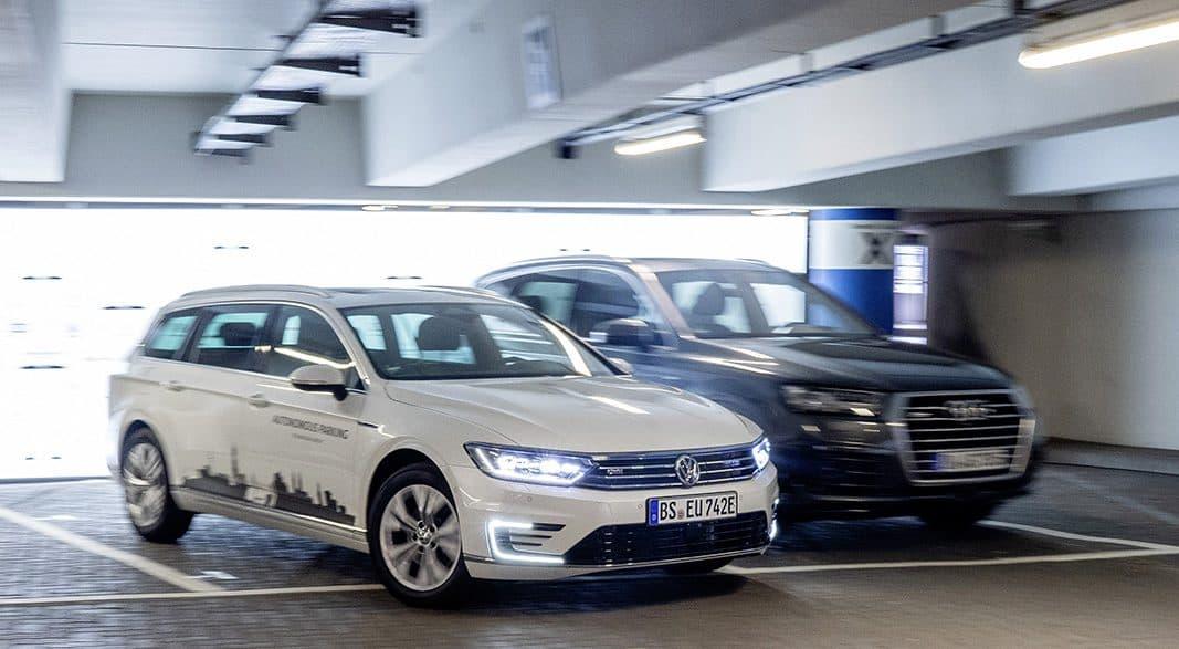 El Grupo Volkswagen ofrecerá el aparcamiento autónomo en 2020
