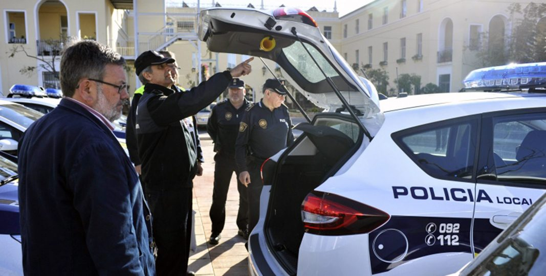 Castellón renueva la flota de coches patrulla de la Policía Local