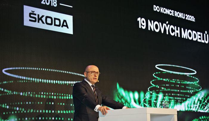 Skoda Auto entrega un 6,6% más de vehículos en 2017