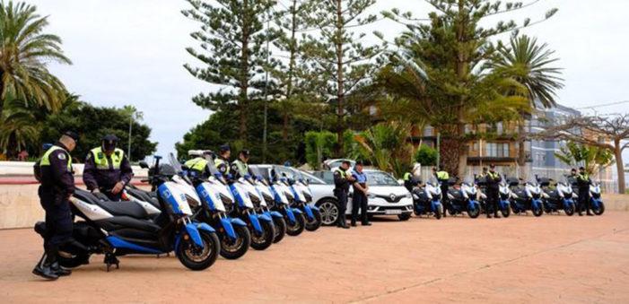 La flota de la Policía Local de Las Palmas de Gran Canaria se renueva