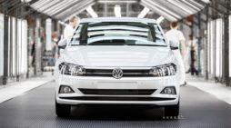 Fábrica de motor del grupo Volkswagen, en Alemania.