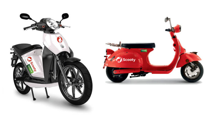 El grupo Europcar compra Scooty y entra en el 'scooter sharing'