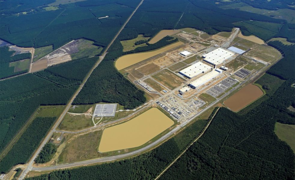 South Carolina Plant Expansion