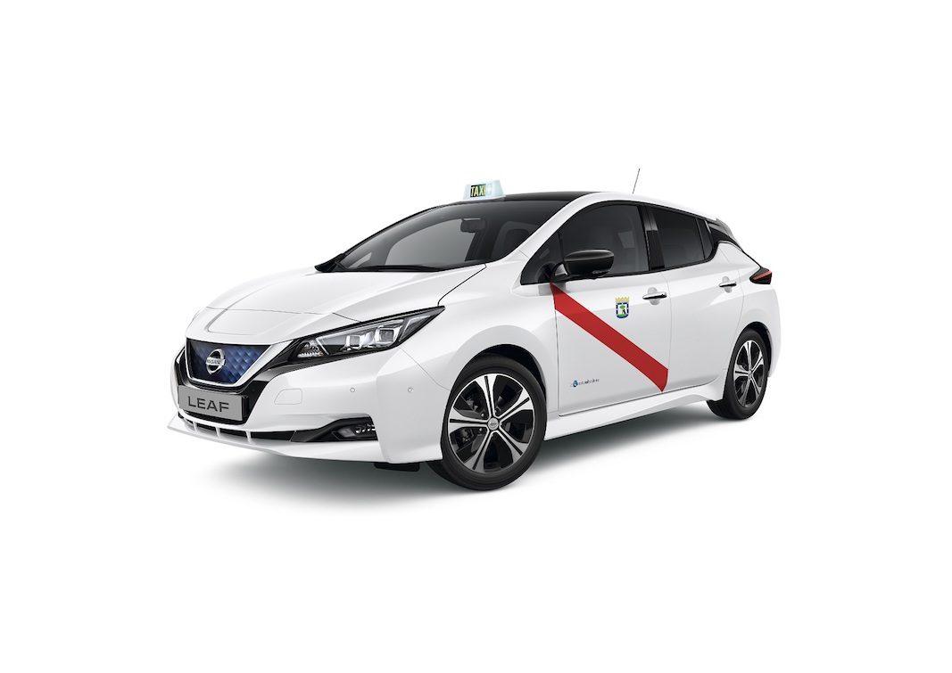 El nuevo Nissan Leaf y la nueva e-NV200 de 40 kWh, con homologación para taxi en Madrid y Barcelona