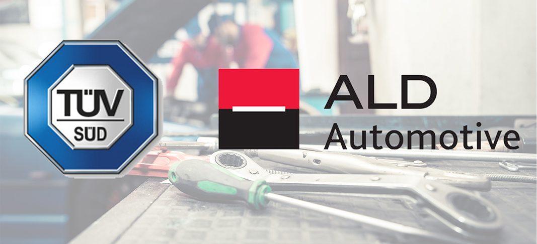ALD Automotive y TÜV SÜD firman un acuerdo para certificar sus talleres