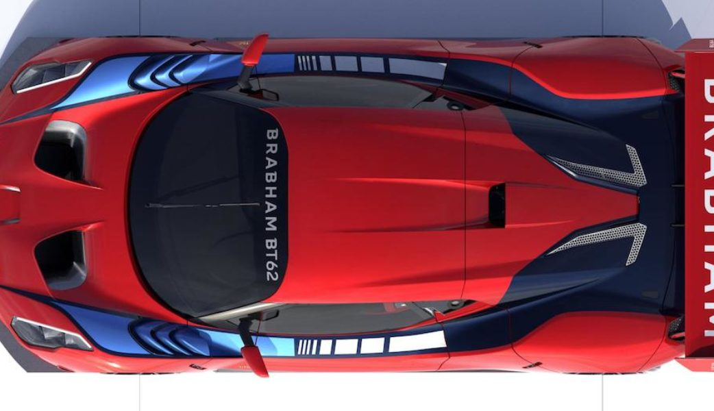 BRABHAM_BT62 Plan View red