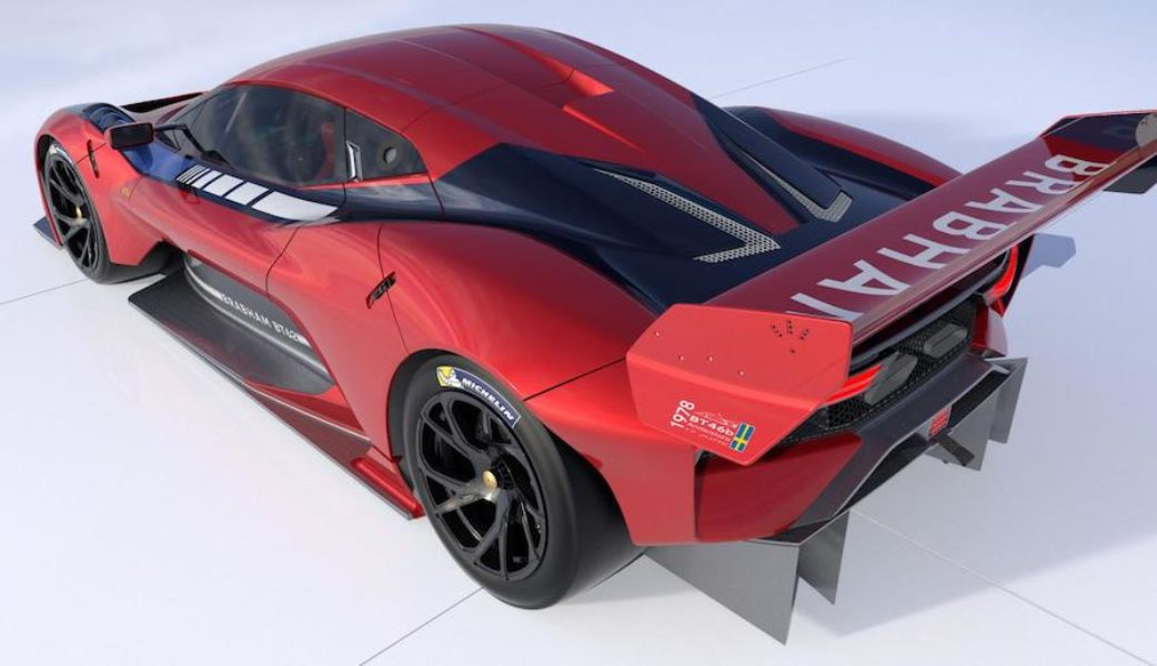 BRABHAM_BT62 Rear Qtr Red