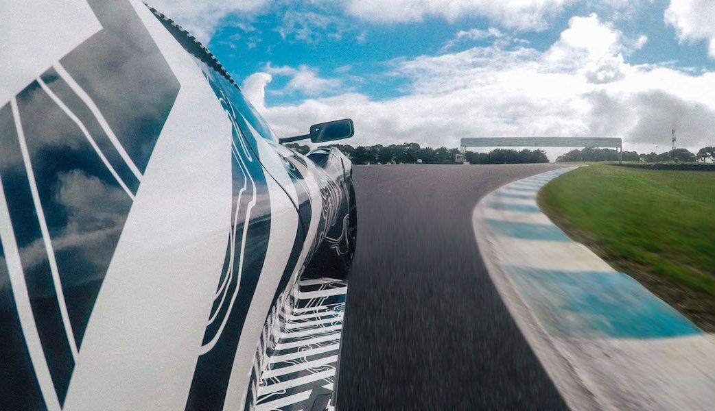 Brabham BT62 Testing