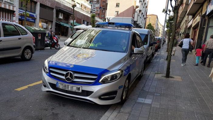 La flota de la Policía Municipal de Bilbao incorpora 33 coches patrulla