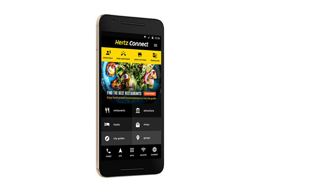 Hertz ofrece a sus clientes conexión wifi gratuita en Europa
