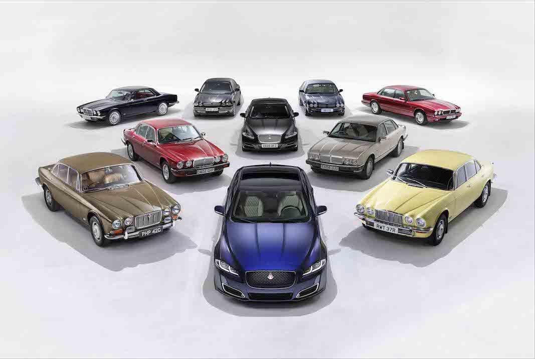 Jaguar celebra el medio siglo de la berlina XJ con una edicion especial