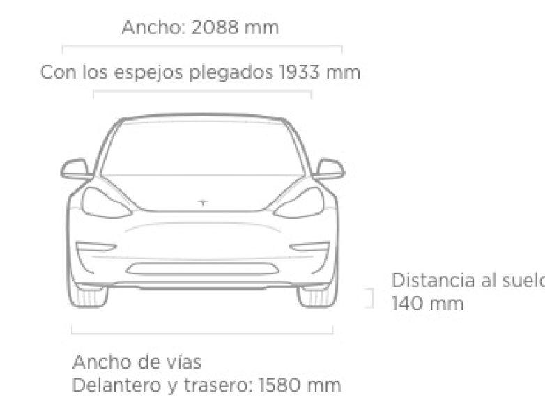 Tesla Model 3 (Frontal)