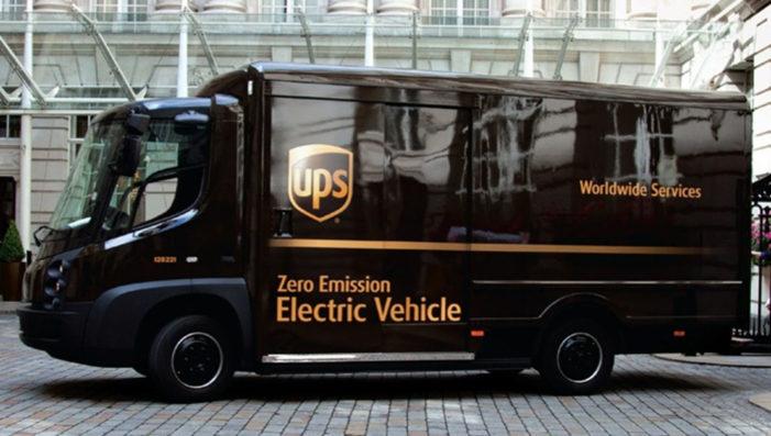 UPS añade a su flota 35 nuevos camiones eléctricos