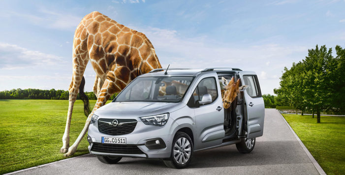 Opel amplía el horizonte del Combo para conquistar más clientes privados