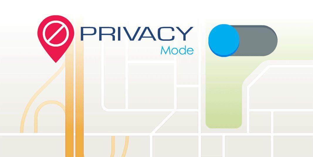 El modo de privacidad ya está disponible para los usuarios de Geotab